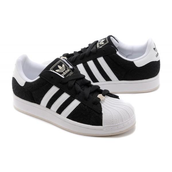 basket adidas superstar blanche et noir